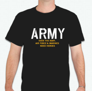 Army T-Shirt $10 each